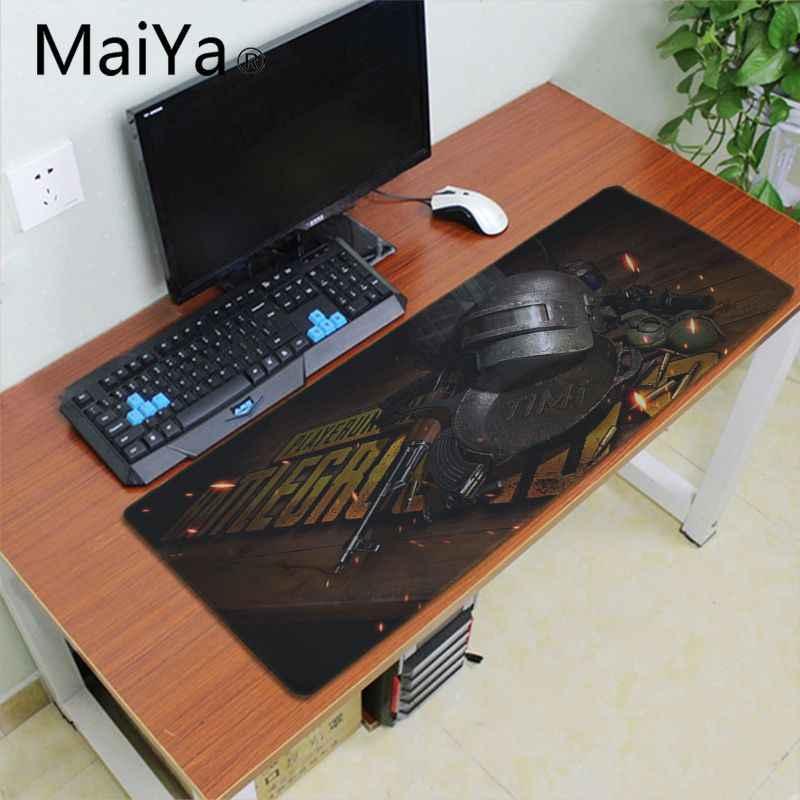 Maiya PUBG oyun Fareler Mousepad Büyük oyun Mouse Pad Lockedge Fare Mat Dizüstü Bilgisayar Hız Sürümü Oyun Klavye Pedi