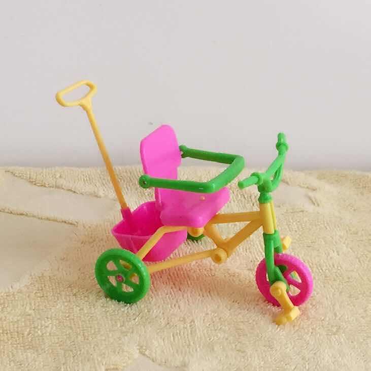 Kelly hermoso carrito de bebé rosa cochecito muebles de guardería para muñeca juguete de Navidad regalos para bebé niña