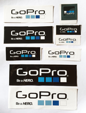 9Pcs/Set Gopro Icon Sticker DIY Gopro Hero Label Adhesive Sticker Gopro Accessories