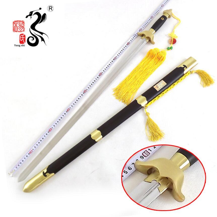 2019 Nieuwe Stijl Hoge Kwaliteit Chinese Zwaard Chinese Wushu Jian Rvs Teken Blade Handgemaakte Carve Messing Fittingen @ 2079