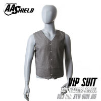 AA Shield Bullet Proof Vest Body Armor VIP Suit Comfortable Armour Carrier Bullistic Aramid Core Insert