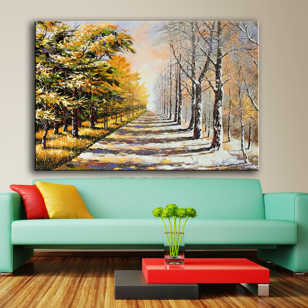 Modern Wall Art Painting Print On Canvas For Home Decor