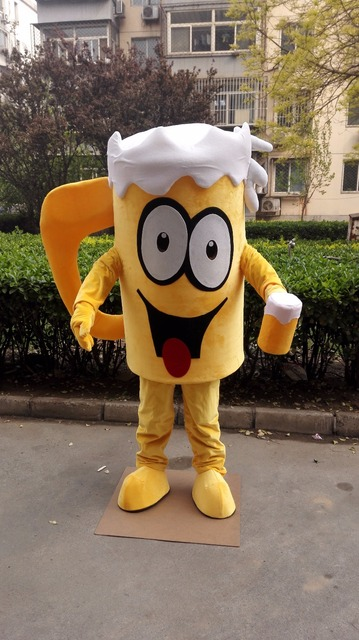 5f6cfd84ebd4a US $242.25 5% OFF|Aliexpress.com : Buy beer cup mascot costume custom fancy  costume anime cosplay kit mascotte theme fancy dress carnival costume41117  ...