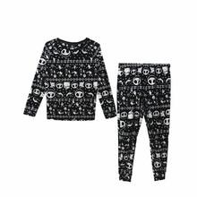 Unisex Erwachsene Nightmare Before Christmas Jack Skellingt Cosplay Kostüme Pyjama Schlaf Set Flanell Pyjamas Anzüge