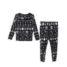 Unisex yetişkin kabus önce noel Jack Skellingt Cosplay kostümleri pijama uyku seti pazen pijama takım elbise