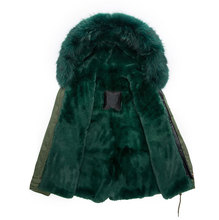 mens winter fur hooded jackets mens deep green winter fur hooded jackets