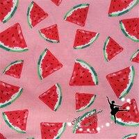 Width 1 45 M Foundation Watermelons Cotton Poplin Plain Weave Fabric