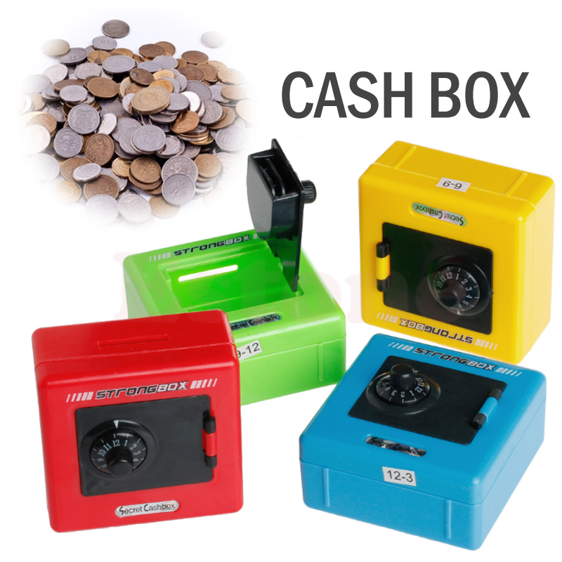 giantree Code Safe Box Storage Box Lock Money Box Lightness Durable Date Password ABS Gift