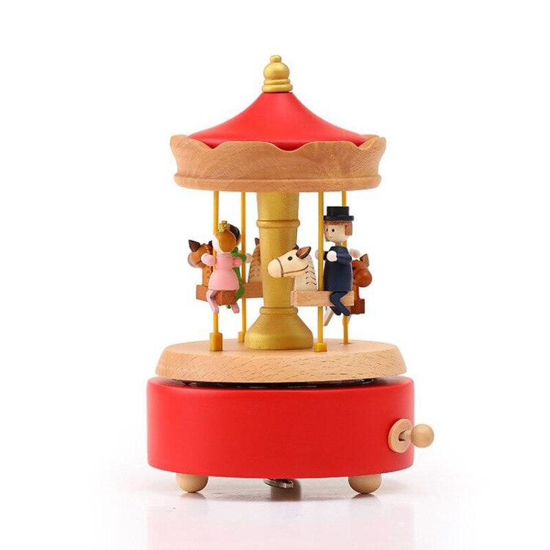 Carrousel boîte à musique gâteau mis en place cadeau créatif jouets maison artisanat saint valentin cadeau d'anniversaire