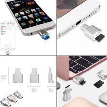 Metal USB 3.1 Type C Micro SD TF Card Reader