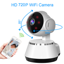 WiFi Wireless 720P Home Security Surveillance H.264 IP Infrared Smart Net Night Vision CCTV Cameras Indoor Remote Box Cameras