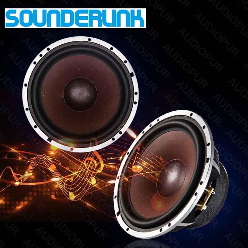 1 PC Sounderlink Top end 6 5inch 350W car subwoofer speaker Bass raw driver woofer transducer