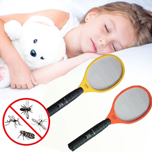 Electric LED Fly, Mosquito & Bug Killer Racket 3