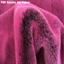 Top Quality Warm Faux Fur Fabric 2-3cm Long Hairy Imitation Mild Rabbit DIY Collar of Winter Coat 165cmx50cm 1pcs