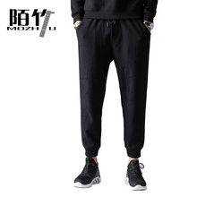 Men casual pants Sweatpants pencil men trousers joggers track sweatpants clothing Ankle-Length Pants MOZHU N830