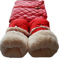 Cochecito de bebé guantes accesorios contra el viento y la lluvia cubierta del coche paraguas tranvía mate engrosada cálido guantes de algodón de invierno general