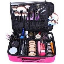 Профессиональный косметический чехол для путешествий, портативный органайзер для макияжа, коробки для хранения, сумка, водонепроницаемый косметический инструмент, макияж, Bolso Mujer