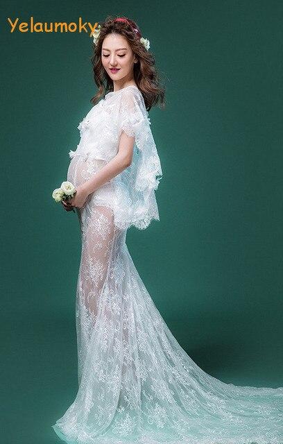 Schwangerschaft spitze sommerkleid mutterschaft fotografie ...