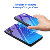 5000mah casos de bateria para xiao mi 9 clipe de volta caso carregador de bateria para xiao mi 9 sem fio magnético de carregamento capa