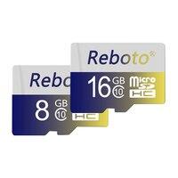 Reboto Series Micro SD Card 8GB 16GB 32GB 64GB Class10 UHS 1 Real Capacity Flash Memory