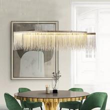 цена Modern LED hanging lights living room chandelier home deco lighting illumination Nordic fixtures dining room suspended lamps онлайн в 2017 году