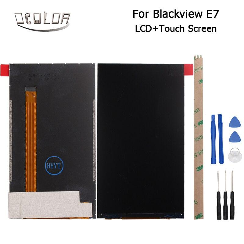 imágenes para 5.5 pulgadas Para Blackview E7 E75 LCD Pantalla de Visualización 100% de Alta Calidad Original Pieza de Reparación Para Blackview E75 E7 + herramientas + Adhesivo