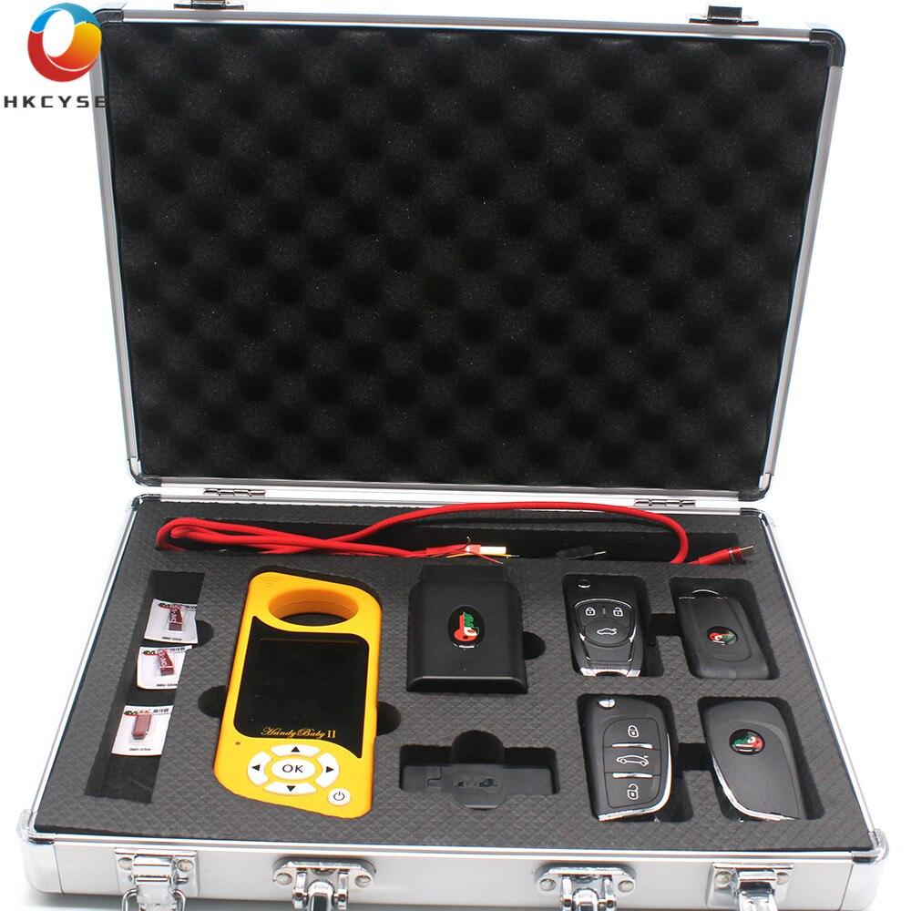 JMD Handy Baby 2 Cópia da Chave Do Carro Do Bluetooth para 4D/46/Chip com JMD 48 Rei Vermelho OBD inglês/Espanhol/Portugues/Russo Programador