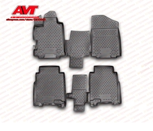 Tappetini di gomma di caso per Honda FR-V 2004-2010 4 pz tappeti in gomma antiscivolo interior car styling accessori