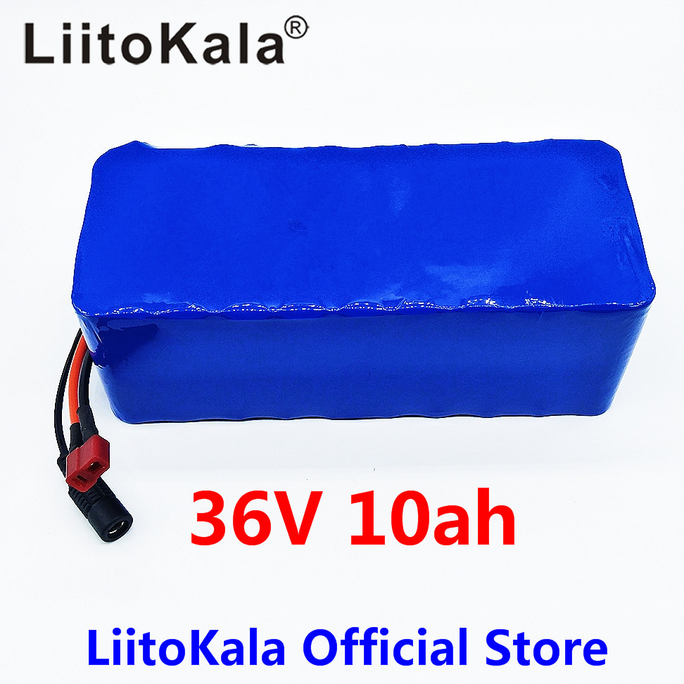LiitoKala 36V 10ah 500W 18650 lithium battery 36V 8AH Electric bike battery with PVC case for electric bicycle liitokala 36v 6ah 500w 18650 lithium battery 36v 8ah electric bike battery with pvc case for electric bicycle 42v 2a charger