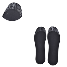 2019 1 Pair Black Adjustable Scalable Insoles Unisex Bamboo Charcoal Deodorant Cushion Foot Inserts Shoe Pads Insoles(China)