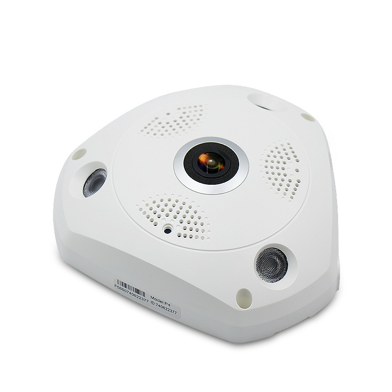 Wifi IP Weitwinkel VR Kamera Wireless 5MP HD Smart 360 Grad Fishey - Schutz und Sicherheit - Foto 2