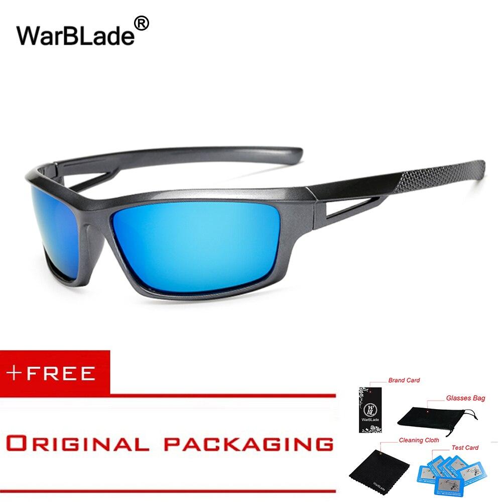 2018 Mode Hommes lunettes de Soleil Polarisées Élégant Mâle Soleil Lunettes 100% UV400 Polarisée Conduite Lunettes Eyewears KP1008 WarBLade