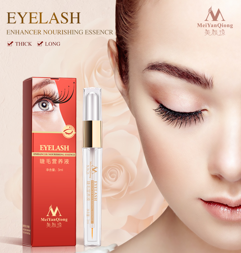 2018 New Herbal Eyelash Growth Treatments Liquid Serum Eyebrow Enhancer Eye Lash Longer Thicker Makeup Beauty Tools Crece Ceja liphop professional women makeup brand powerful eyelash growth treatment liquid serum enhancer eye lash longer thicker 7 15 days