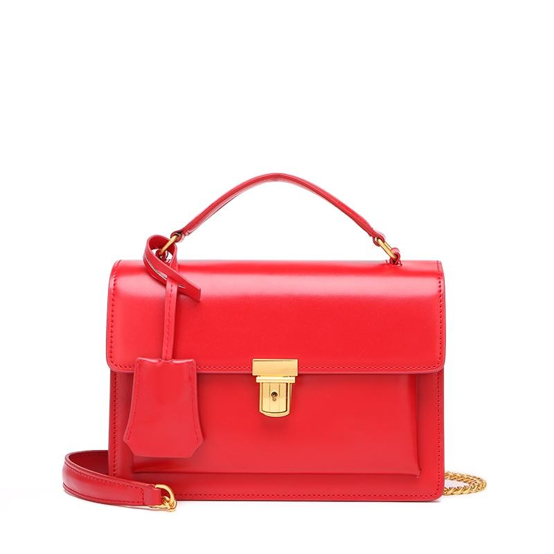 Women's Genuine Leather Handbag Crossbody Bag Famous Brand Design Women bags Messenger Bags Free Shipping casio ltp 1308sg 7a
