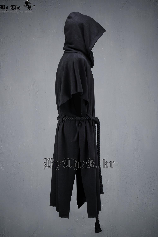 Novi moški pulover s kapuco plašč moški Street Fashion kratki - Moška oblačila - Fotografija 4