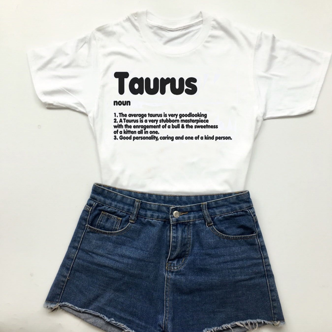 Hahayule-JBH Taurus T Shirt- Zodiac Sign Definition  Shirts- Taurus Shirt- Zodiacs