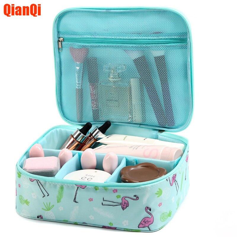 New Travel Cosmetic Bag Neceser Portable Storage Bag Large Capacity Wash Bag Female Cosmetic Bag Qianqi