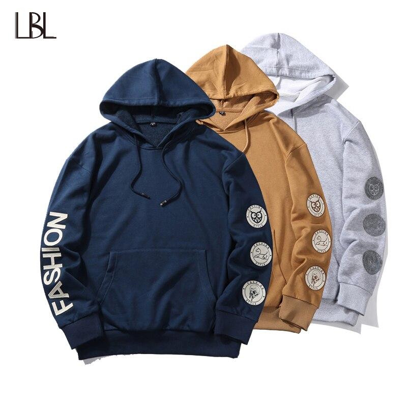 New Brand Mens Hoodie Streetwear Hip Hop Long Sleeve Hoodies Male Casual Hoody Sweatshirts Men Sportswear Tracksuit Sweat Coat