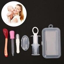 Health-Care-Kit Toothbrush Newborn-Baby Kids Noenname-Null 5pcs Medicine-Dispenser Dropper