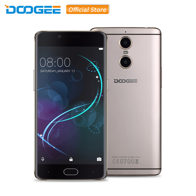 Original DOOGEE SHOOT 1 Android 6.0 MTK6737T Quad Core 5.5 inch 2GB RAM 16GB ROM 4G LTE Smartphone 3 Cameras 13.0MP+8MP Phone