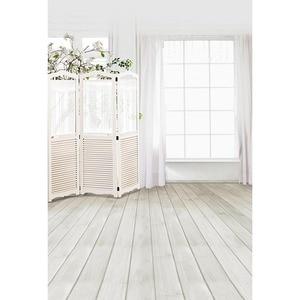Image 1 - Fond blanc pur intérieur pour Photo Photophone vinyle tissu bébé bonbons Bar anniversaire mariage anniversaire Bokeh photographie