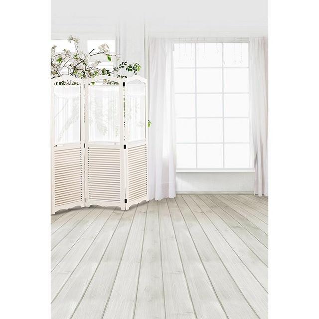 Pure สีขาวในร่มพื้นหลังสำหรับ Photo Photophone ผ้าไวนิลเด็ก Candy Bar งานแต่งงานวันเกิดครบรอบ Bokeh การถ่ายภาพ