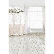 Pure White Indoor Hintergrund für Foto Photophone Vinyl Tuch Baby Candy Bar Geburtstag Hochzeitstag Bokeh Fotografie