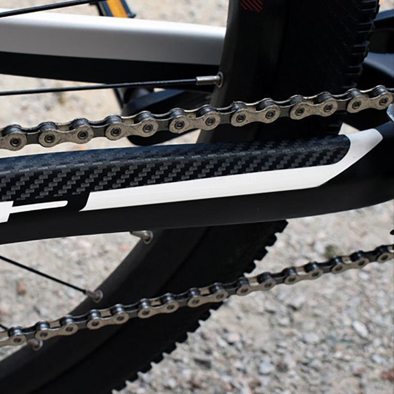 MTB Bike Sticker Bicycle Chain Stickers Folding Frame Front Fork Protective Anti-scratch Scratch Rhinoceros Leather Stickers sticker