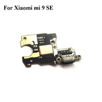 New Original For Xiaomi mi 9 se 9SE USB Dock Charging Port Mic Microphone Module Board Flex Cable Parts Replacement Mi9se MI9 SE
