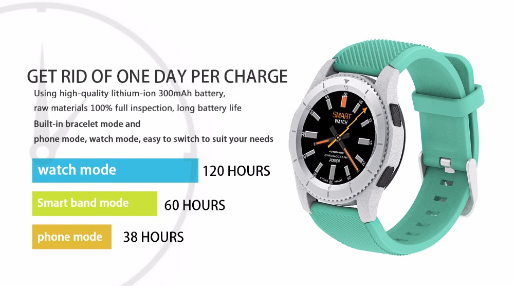 2017 NEW No.1 G8 Smartwatchs Bluetooth 4.0 SIM Card Call Message Reminder Heart Rate Monitor Smart watchs For Android Apple   (10)