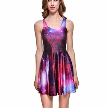 857f0966a488 2xL 4xL Limited Sales Sexy Women Summer Mini Dress Brown Moon Sun Bubble  Print Sleeveless Black