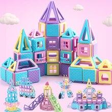 Магнитный конструктор магнитные строительные и строительные игрушки магниты магнитные блоки Развивающие игрушки для девочек и мальчиков Игрушки Подарки