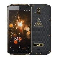 AGM X1 5.5 calowy FDD LTE Dual SIM Telefonów komórkowych Android 5.0 Octa Rdzeń 4 GB + 64 GB 13.0MP 5400 mAh IP68 Wodoodporna, Odporna Na Wstrząsy NFC OTG