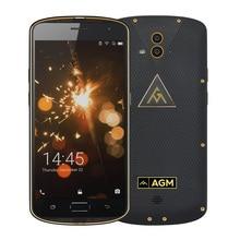 AGM X1 5.5 дюйма FDD LTE dual sim мобильный телефон Android 5.0 Octa core 4 ГБ + 64 ГБ 13.0MP 5400 мАч IP68 Водонепроницаемый противоударный NFC OTG